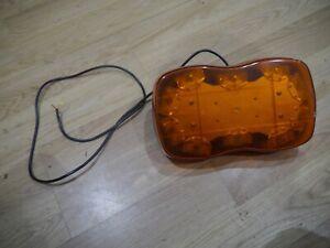 TRUCK LORRY VAN LED ROOF ROTATING BREAKDOWN LIGHT BEACON HAZARD LAP ELECTRICAL