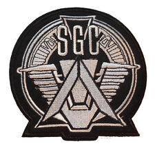 """Stargate SG-1 Prometheus SGC Logo 3 3/4"""" Tall Embroidered PATCH"""