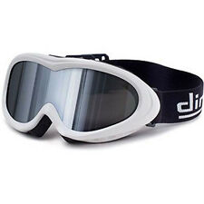 Dirty Dog Flick Kids White Mirror Snow Ski Snowboard Goggles SAVE 50% OFF RRP