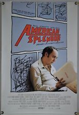 AMERICAN SPLENDOR DS ROLLED ORIG 1SH MOVIE POSTER PAUL GIAMATTI HOPE DAVIS 2003