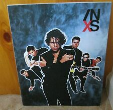 Inxs 1990 X Concert Tour Program Book! ~ Michael Hutchence