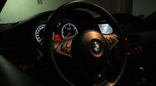 M5 M6 OPTIK TACHO (LED) UMBAU WEISS für BMW 5er E60 E61 & 6er E63 E64