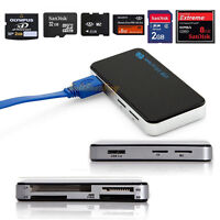 USB3.0 All-in-1 Compact Flash Multi Memory Card Reader Adapter CF MicroSD MS XD