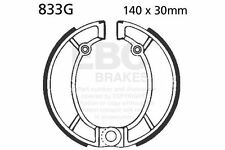 FIT BULTACO  Pursang MK12 370cc  EBC FRONT GROOVED BRAKE SHOES