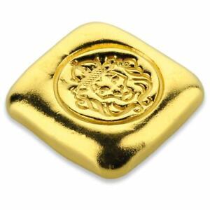 1oz .9999 Gold Bar by Scottsdale Mint - Limited Mintage Quarantine Gold w/ COA