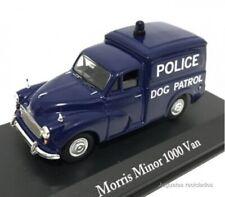 Morris Minor 1000 VAN West Riding Policía police  1:43 coche Atlas Diecast