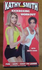 Kathy Smith Kickboxing Workout VHS Exercise w/ Keith Cooke