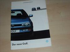 49163) VW Golf III Prospekt 09/1991
