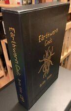 Brian Keene Earthworm Gods LETTERED Signed Delirium 2005 Leather