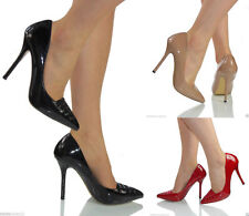 Unbranded Patent Leather Slim Heel Shoes for Women