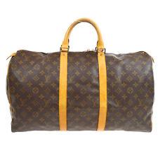 LOUIS VUITTON KEEPALL 50 TRAVEL HAND BAG PURSE MONOGRAM eci M41426 33605