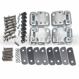 Land Rover Defender 90 110 130 Front Door Hinges Stainless Steel Bolts Series 3