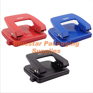 Hole Punch Heavy Duty 2 Hole 25 Sheet Desk Paper Punch Perforator