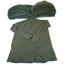 20er Pack BW Rolli II. Wahl Unterhemd Bundeswehr langarm Shirt m. Reißverschluss