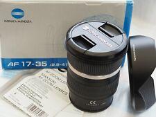 Minolta AF 17-35 mm f/2.8 - 4.0 D lens for Sony/Minolta A-Mount - near MINT