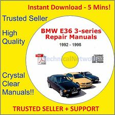 BMW E36 3 Series Repair Manual M3 - 318i - 323i - 325i - 328i + More
