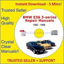 BMW E36 3 Series Repair Manual M3 - 318i - 323i - 325i - 328i + More
