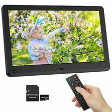 Digital Picture Frame 12 Inch 1920x1080 169 IPS Screen Photo Auto Rotate Moti...