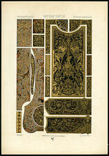 Antique Print-17TH CENTURY-18TH-DESIGN-ORNAMENT-Racinet-ca. 1870