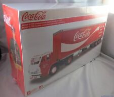 COKE COCA COLA DODGE L-700 MODEL KIT MADE IN USA 1:25 LINDBERG SEMI TRUCK JLLOYD