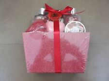 6pc Sweetheart Bath, Body, Spa Skin Care Gift Set-Love Of Rose By Lovestee NEW