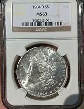 1904-O Morgan Silver Dollar NGC *MS63*