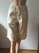 Tom Tailor Cargo mit Taschen Relaxed Jeans Shorts Bermuda Gr 33 Beige 1A