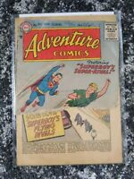 Adventure Comics #226 (DC 1956) **SILVER AGE SUPERBOY** Low grade - Torn cover