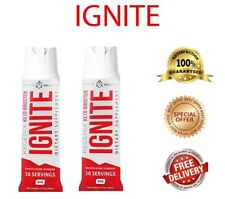 2 PACK of Ignite Keto Pre Workout Spray BHB Supplement Weight Fat loss Ketogenic