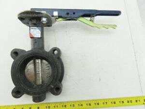 """Nibco LD 3010 3"""" 250PSI Lug Style Butterfly Valve Ductile Iron EPDM Seat"""