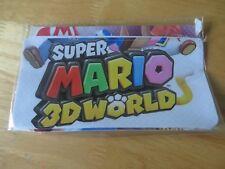 nintendo 3dsxl console stickers. super mario 3d world.