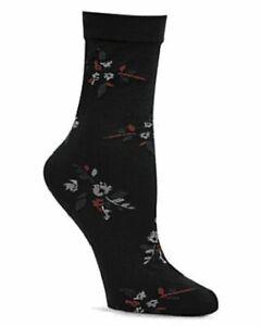 Calvin Klein Cecila Floral Tube Crew Socks  One Size