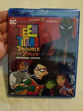 New Sealed, cracked case Teen Titans: Trouble In Tokyo Blu-ray the lost episode!