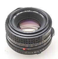 Minolta MD 50 mm 50mm 1.7 1:1.7 - XD-7 XD X700