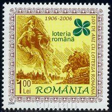 2006 Lotto,Lottery,FORTUNA,Goddess of Luck,Clover,Ploughman,Romania,Mi.6123,MNH