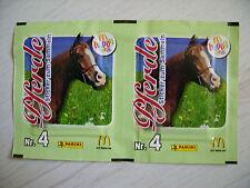 Panini / McDonalds Sonderausgabe ( 2008 ) - Pferde: 1x Tüte Nr.4, rar !!!
