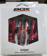 Box Eclipse 85mm Linear Pull Brake Arms Red Dual Pivot Bearings Aluminum