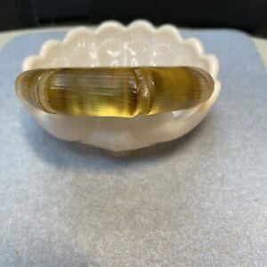 ALEXIS BITTAR Light Golden Champagne Lucite Bangle Bracelet Even Width Around