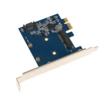 PCI-Express to mSATA3.0+SATA 3.0 HDD/SSD Converter Card ASM1061 CHIP