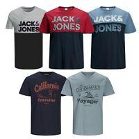Jack and Jones Mens T Shirt Big King Size Casual Crew Neck Short Sleeve Tee Tops