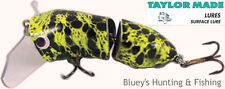 Taylor Made Cod-Walloper surface fishing jointed Lure CF Frog
