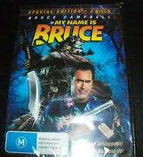 My Name is Bruce (Bruce Campbell_  (Australia Region 4) 2 Disc DVD – New