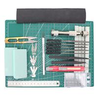 Gundam Modeler Tool Craft Set Hobby Craft Utility Knife Steel Ruler DIY Tool Set