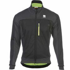 Sportful Men's Protest Softshell Bike/Sport-Jacket 1101274 Black Med Windproof
