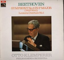 KLEMPERER CONDUCTS BEETHOVEN SYMPHONY NO 6 & LEONORA   LP Vinyl HL2.332