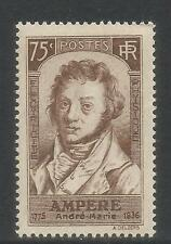 France 1936 André Marie Ampère--Attractive Science Topical (306) MNH