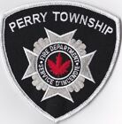 Perry Township Fire Dept. CANADA Firefighter Patch