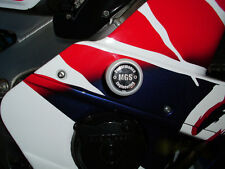 HONDA CBR 400RR NC29 1996 - on'  MGS Performance White Frame Crash Protectors