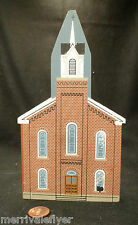 Vintage WOOD MODEL Mothers Day Church Victorian Grafton West Virginia sign WV