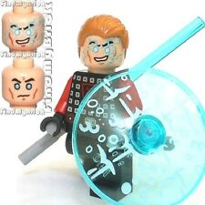 SW263 II Lego Minifigure Forces Shield Tonfa Lightsaber with Jek-14 Head NEW